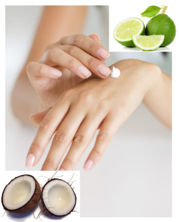 natural Lime in the Coconut lotion