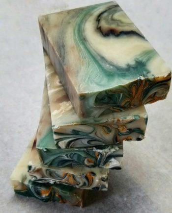 Vegan Laurentian Oak Artisan soap bar by SoGa Artisan Soaperie
