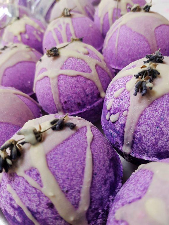 Laveeno bath snowballs