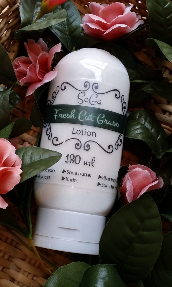 fresh cut grass lotion