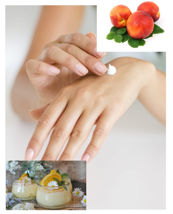 Peaches and cream lotion