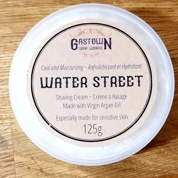 Water st shaving cream 125g