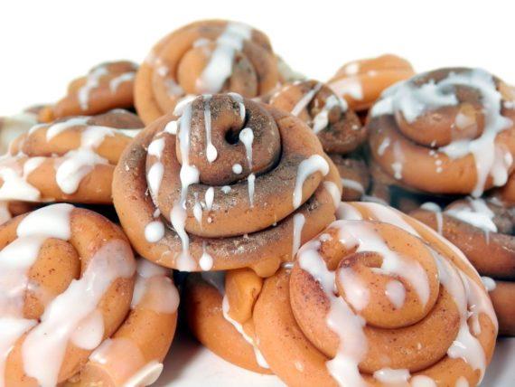 Cinnamon bun wax melt